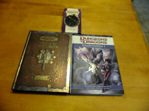 Dungeons and Dragons player handbook 1 &2 and Ranger Power cards