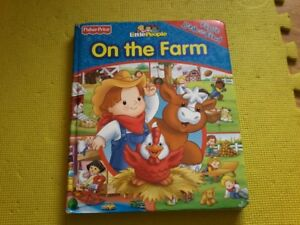 Fisher Price little people look and find book