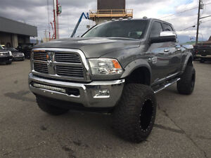 "2012 Ram 3500 Laramie Longhorn, Cummins Turbo Diesel, 8"" Lift"