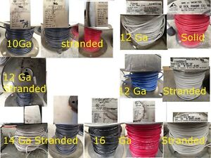 Electrical wire, breakers, Wire nuts, etc