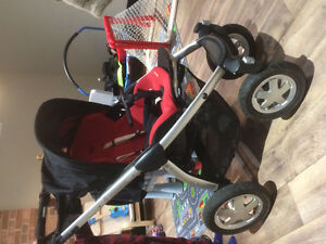 Maxi Cosi Stroller and Bassinet