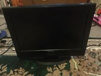 19 inch TV built in DVD player very good condition
