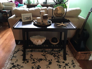 Structube Asian Style Coffee Table And Sofa