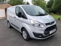 2017 67 FORD TRANSIT CUSTOM TREND L1 H1 2.0TDCI 130PS EURO6 290 ONLY 26K MILES