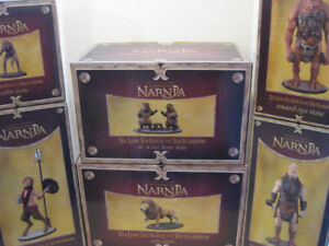 NECA Disney Chronicles of Narnia Lion, Witch & Wardrobe 6x lot