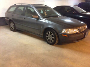2002 Volvo V40 Wagon UVIP, Safetied, E-Tested and Ready To Drive