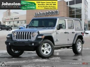 2018 Jeep Wrangler Unlimited Sport 4x4  - Uconnect - $135.57 /Wk