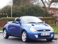 Ford Streetka 1.6 1599cc 2005.5MY Luxury,1 OWNER ,ONLY 35K