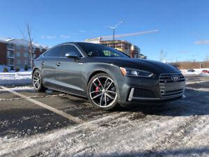 Transfert de bail - 2018 Audi S5 Sportback Technik