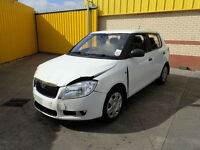 2010 SKODA FABIA 1.2 PETROL 5 SPEED MANUAL