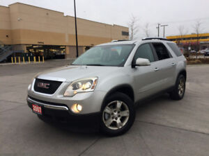 2007 GMC Acadia, AWD,7 passanger, Leather, 3/Y warranty availabl