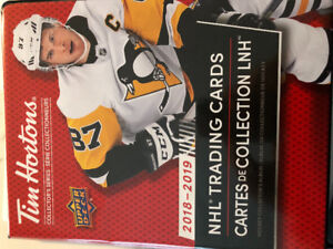 UPDATED OCT 22 9:00 am  2018-19 Tim Hortons hockey cards