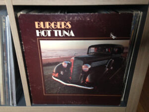 HOT TUNA Burgers VINYL LP