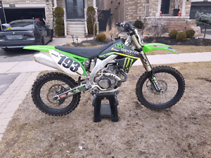 2009 Kawasaki Kxf 450f  Fuel injected (Runs Excellent and clean)