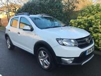 DACIA SANDERO STEPWAY AMBIANCE TCE 2014 Petrol Manual in White