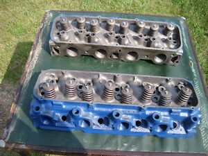 1 set Ford 429 closed chamber heads Peterborough Peterborough Area image 1