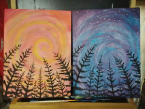 Original Painted Canvases