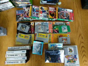"HUGE Video Game ""Garage"" Sale!  Nintendo, Sega, Japanese N64"
