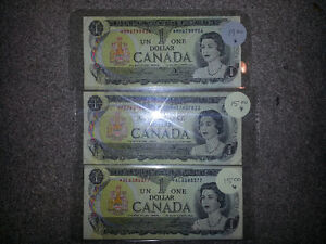 RARE 1973 1$ * REPLACEMENT NOTE ONLY 15$........................