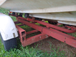 Double axle boat trailer for sale!!!!!