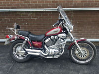 1994 Yamaha Virago 535 XV535 8,641 Miles Great Condition
