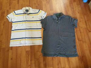Hollister and American Eagle Short and Long-Sleeved Polo Shirts Windsor Region Ontario image 1