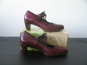 Women's NAOT shoes (new!): Burgundy  (size 10.5)