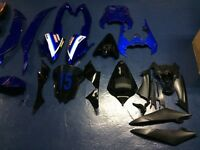 Yamaha r6 2009-2015 WSBK OEM and aftermarket fairings new