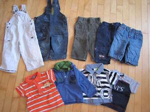 Vêtements 12 mois, plus de 100 morceaux 2$ chaque