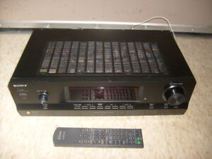 Sony STR-DH100 Stereo Receiver with Remote. 90W per channel