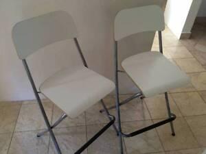 2 X Ikea Franklin bar stools Wollstonecraft North Sydney Area Preview