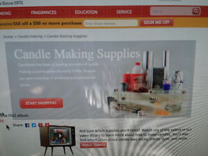 Candle making supplies