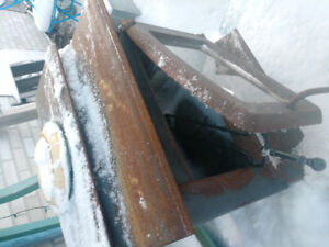 wood stove small size glass door