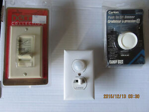 Programmable Dimmer switches and more
