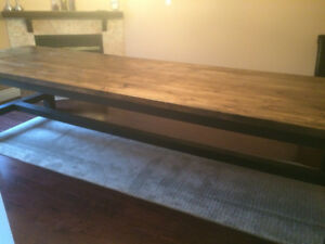 Handcrafted End Coffee Console Sofa Harvest Tables & Nightstands