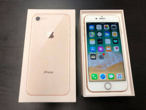 iPhone 8 - 64 GB - Factory Unlocked - Rose Gold $750 Today Only!