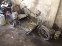 Vintage invalid carriage