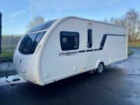 2013 SWIFT Challenger sport 584 4 berth Fixed island bed Motor mover