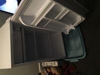 Tall white mini fridge $100 OBO