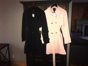 Two Ladies Trench Coats