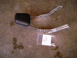 Back Rest Removed from a 2002 Honda VTX1800C