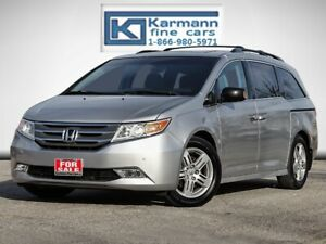 2012 Honda Odyssey Touring|Leather|Back Up Cam|DVD|Sunroof|