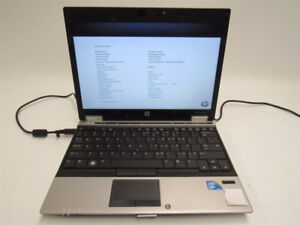 "@HP EliteBook 2540p 12.1"" Intel i7 250GB Hard Drive 8GB Ram+More"