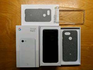 Google Pixel 3 Clearly White 64Gb
