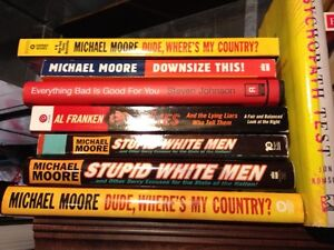 MICHAEL MOORE BOOKS available...
