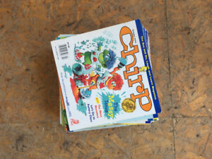 Chirp magazines in great condition from 2002-2004