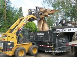 SKID STEER /DEMOLITION SERVICES PLUS & HAULING Edmonton Edmonton Area image 1