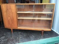 Retro teak 1970's McIntosh display cabinet