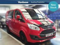 2018 Ford Transit Custom 2.0 TDCi 170ps Low Roof Double Cab Sport Auto Short Whe