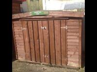 Garden tidy shed 6x3